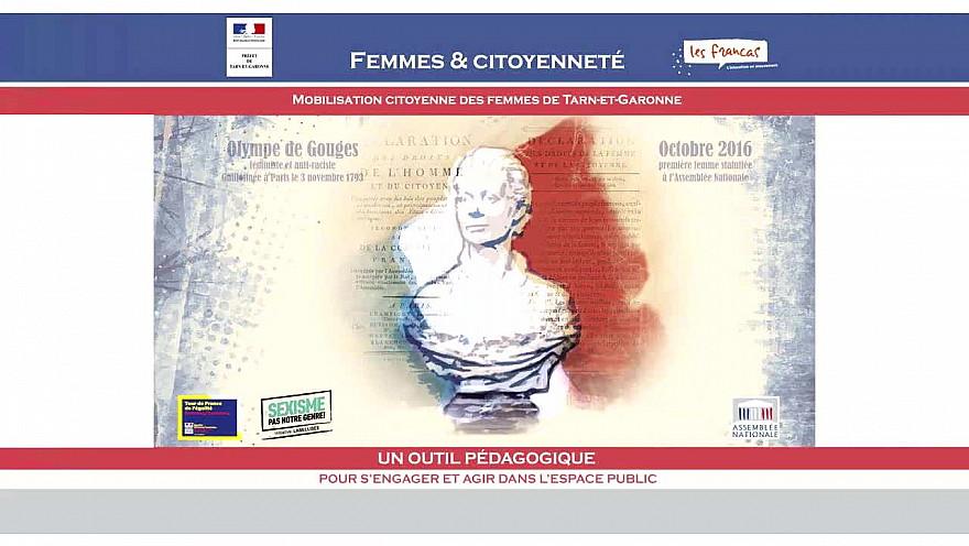 Femmes et Citoyenneté : Journée du 11 Mars 2020 -  Sandrine Lasserre, Céline Porin et Brigitte LAMOURI #femmes